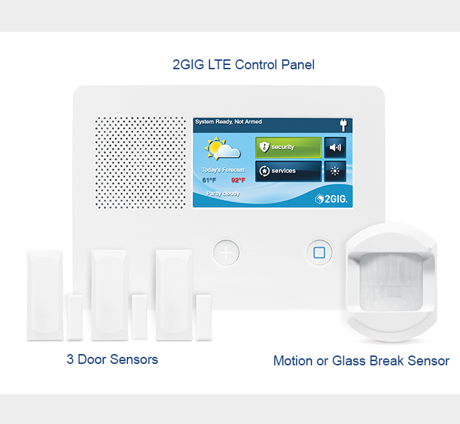 hoome security package $49 free installtion